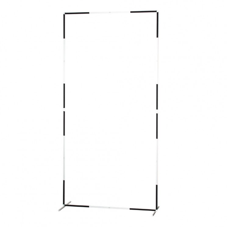 "Strobius Collapsible Scrim Frame 244x122 cm (96x48"") with legs"